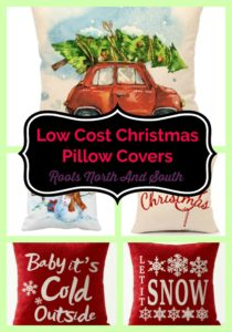 Inexpensive pillow covers