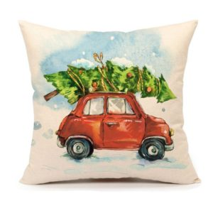 Inexpensive pillow covers for Christmas