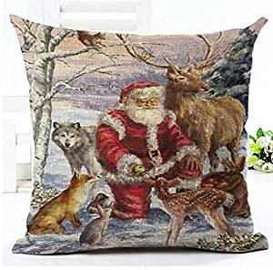 Christmas Pillow Covers Add Sparkle