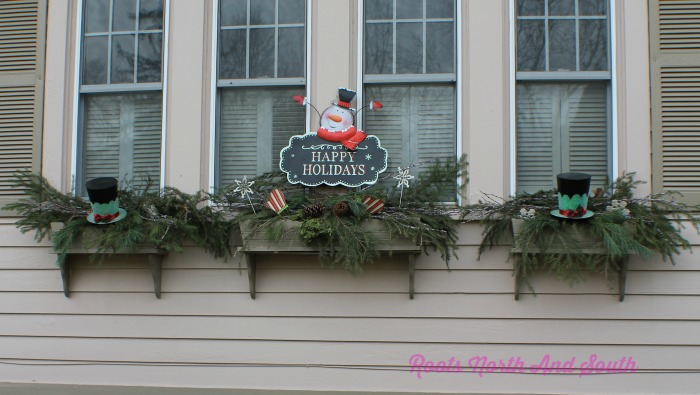 Christmas Window Boxes Roots North South Awesome Christmas Window Box Decorations
