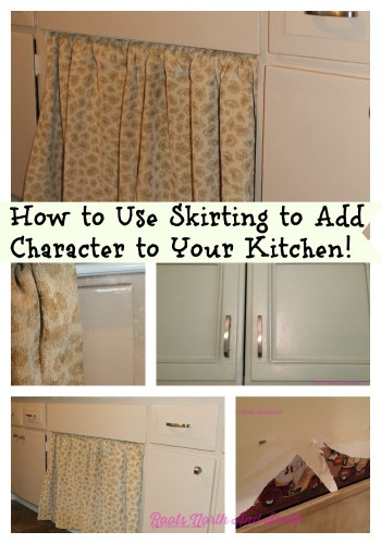 Adding Character With A Kitchen Sink Skirt Roots North South