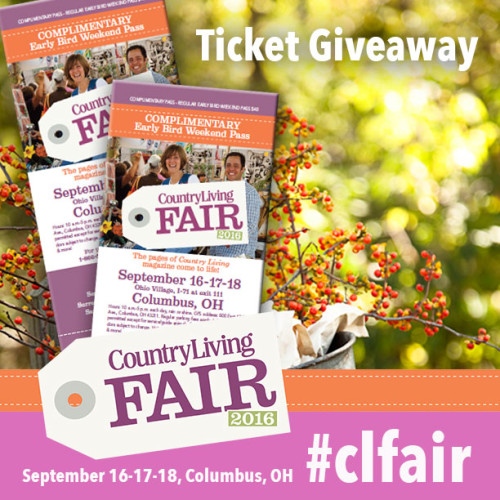 Country Living Fair Returns To Columbus -and We've Got